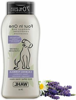 Wahl 4-In-1 Calming Pet Shampoo – Cleans, Conditions, Deta