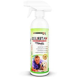 Vet Recommended Waterless Dog Shampoo - No Rinse Dry Shampoo