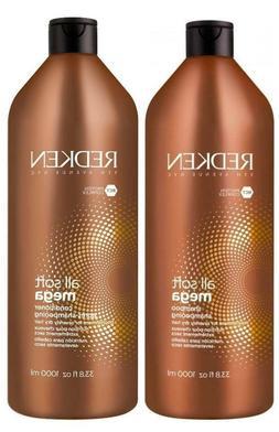 Redken All Soft Mega Shampoo & Conditioner Liter Duo