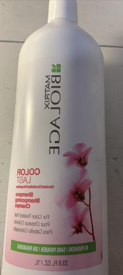 Matrix Biolage Colorlast Shampoo 33.8 oz For Color Treated H