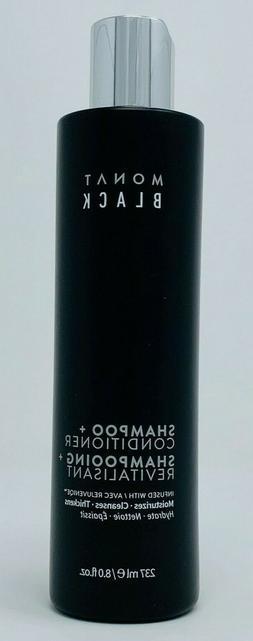 Monat Black 2 in 1 Shampoo + Conditioner Infused w/ Rejuveni