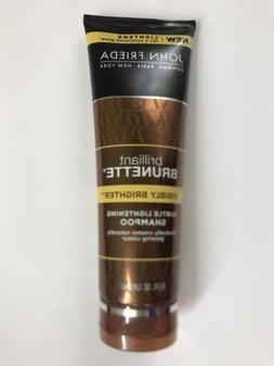 2 John Frieda Brilliant Brunette Subtle Lightening Shampoo,