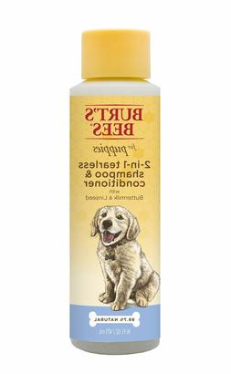 Burt's Bees for Puppies Tearless 2 in 1 Shampoo Linseed Oil