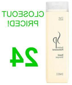CLOSEOUT! 24 NEW WELLA SP REPAIR SHAMPOO,STRESSED HAIR TREAT