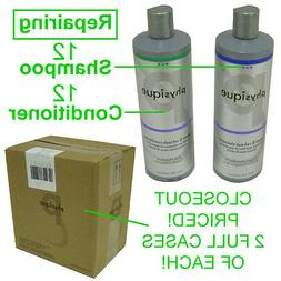 CLOSEOUT! NEW PHYSIQUE REPAIRING 12 BOTTLES SHAMPOO & 12 BOT