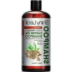 Shiny Leaf Cold Pressed Castor Oil Shampoo – Premium Hair