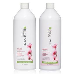 Matrix Biolage Colorlast Shampoo & Conditioner Liter Duo 33.
