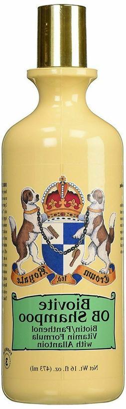 CROWN Royale Biovite OB #3 DOG CAT PET Shampoo 16 oz AMAZING