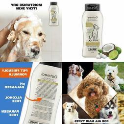 Wahl Dog Puppy Shampoo Oatmeal Formula, Moisturizer, Itch Re