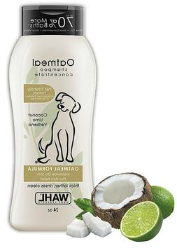 Wahl Dry Skin Itch Pet Shampoo for Dogs Oatmeal Formula with