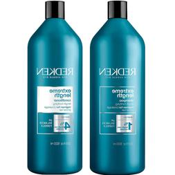 Redken Extreme Length with Biotin Shampoo and Conditioner Se