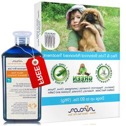 Natural Flea and Tick Prevention Control for Small Dogs 0-20