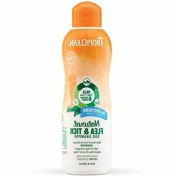 TropiClean Natural Flea and Tick Dog Shampoo Plus Soothe Irr