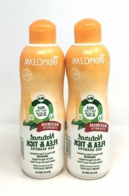 TropiClean Natural Flea and Tick Shampoo For Dogs and Puppie