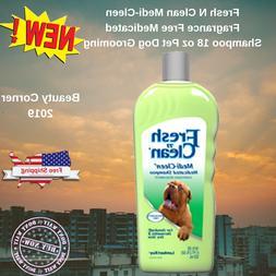 Fresh N Clean Medi-Cleen Fragrance Free Medicated Shampoo 18
