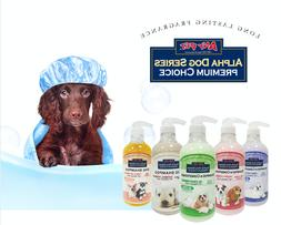 Alpha Dog Series - Grooming Quality All Natural Shampoo + Co
