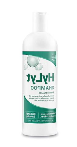 Bayer Animal Health HyLyt Shampoo, Soap-Free Cleansing and M