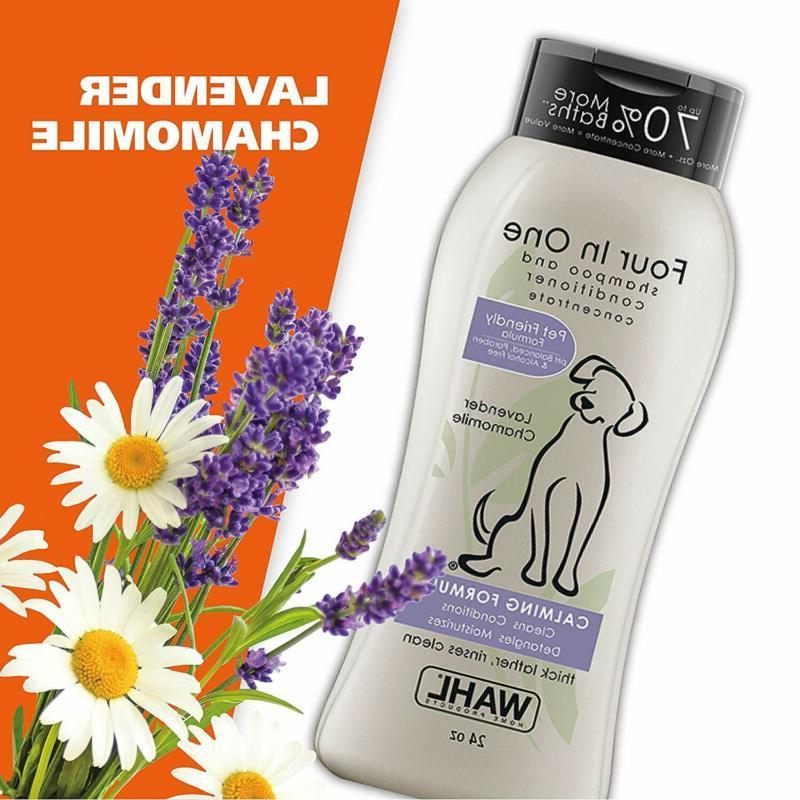 Wahl 4-In-1 Shampoo – Detangles, w