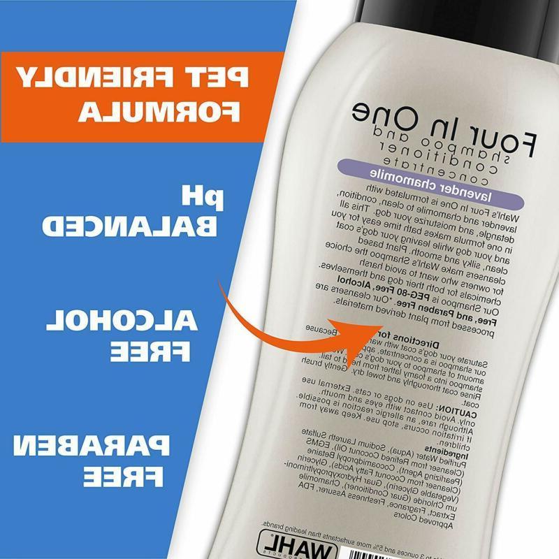 Wahl 4-In-1 Shampoo Detangles, Moisturizes