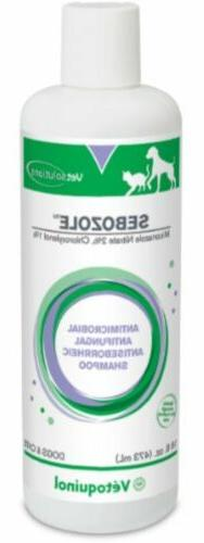 Vetoquinol 411608 Sebozole Shampoo,16 oz