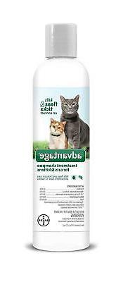 Advantage Shampoo Flea and Tick Treatment for Cats and Kitte