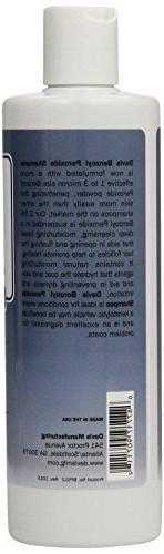 Davis Benzoyl Peroxide Dog Cat Shampoo, 12 Dermatitis and