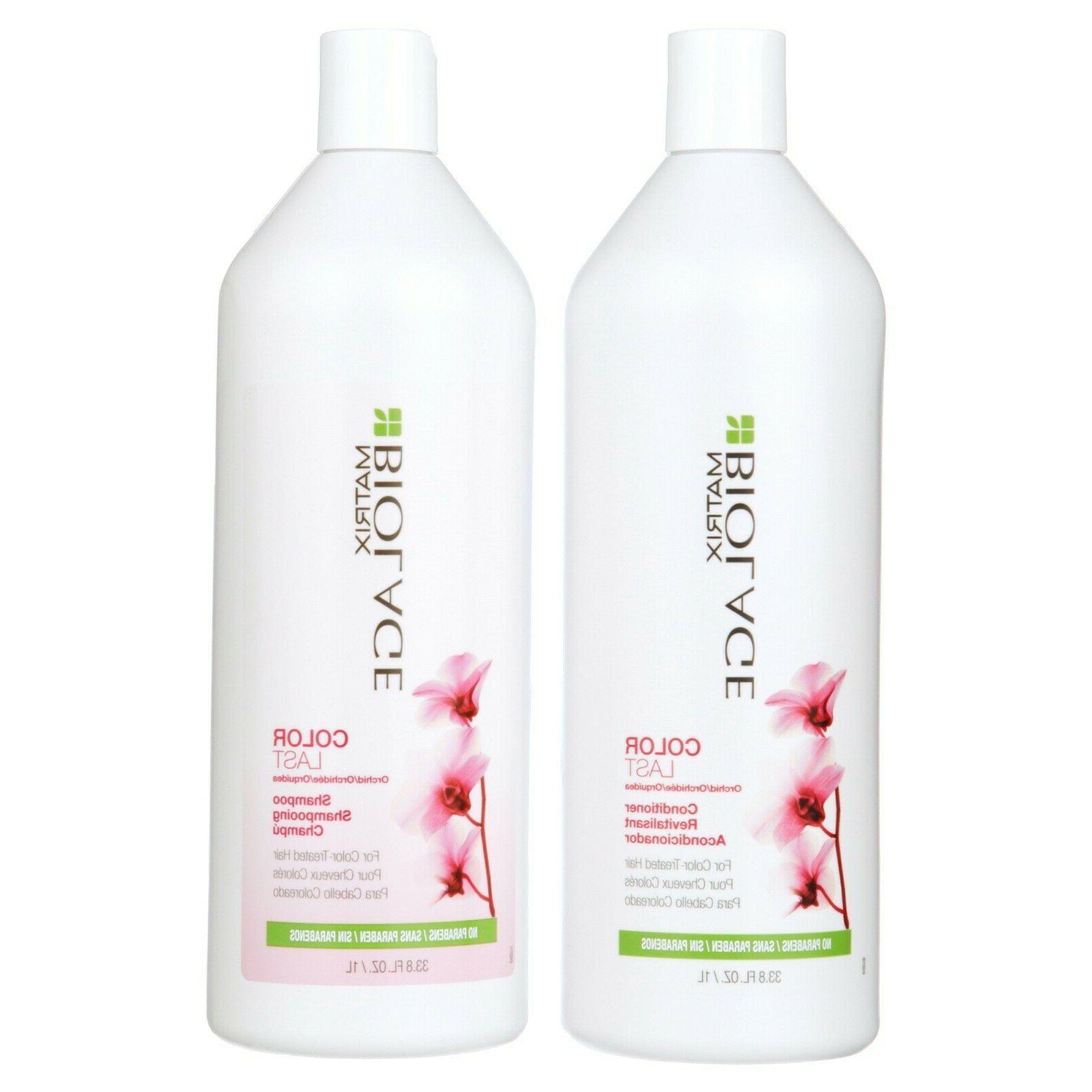 Matrix Color Last Shampoo & / Liter Duo Set