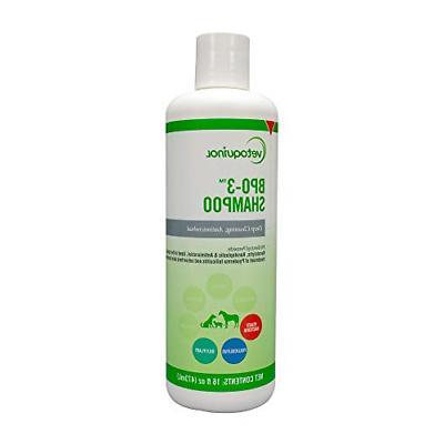 bpo 3 shampoo for dogs cats