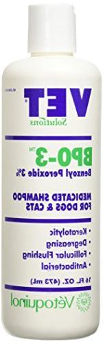 Vet Solutions BPO3 Medicated Shampoo, 16 Oz.