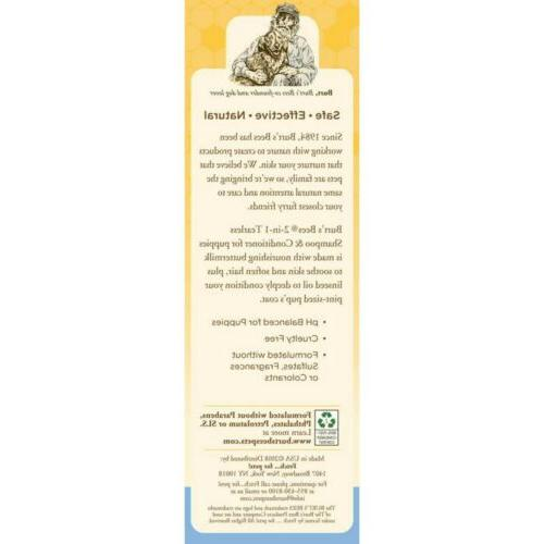Burt's Bees 2 1 Tearless Conditioner Pets NEW