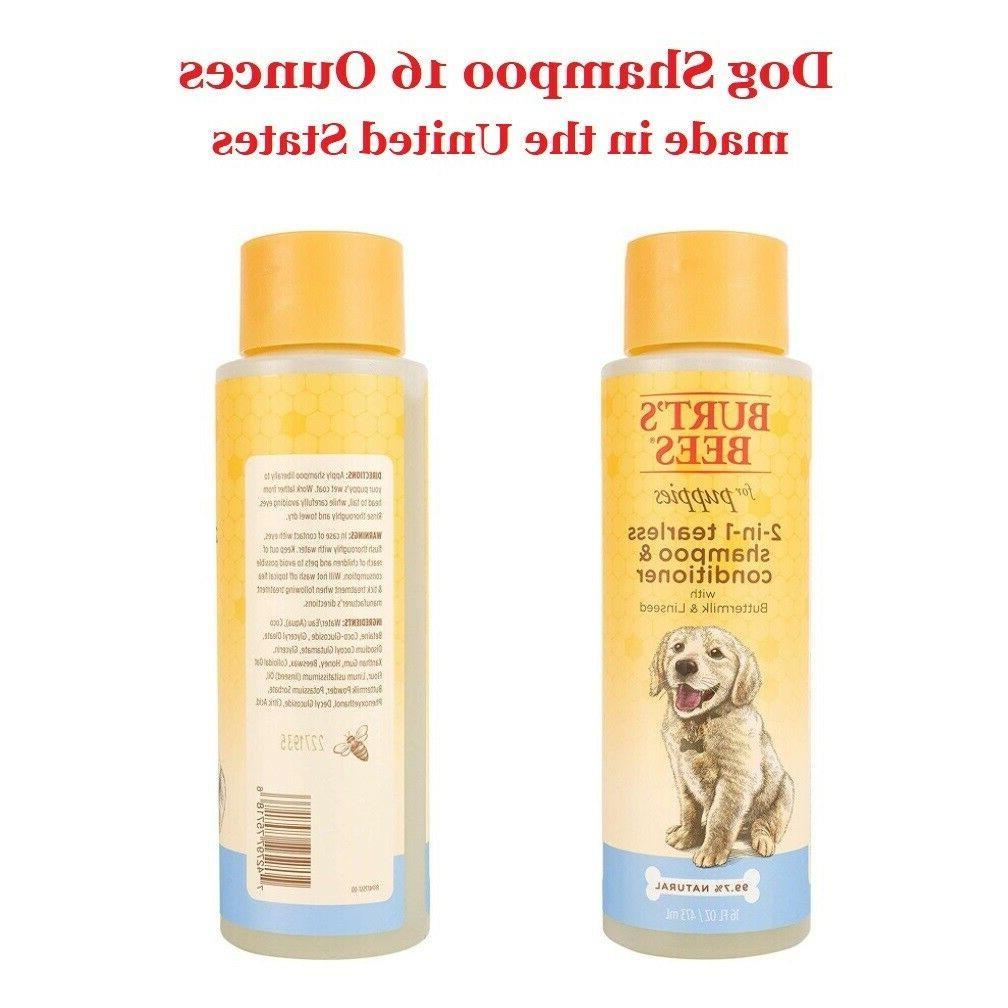 Burt's Dog Tearless Shampoo Skin