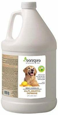 Espree Citrusil Plus Dog Shampoo, 1 gallon