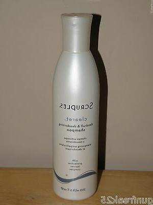 clearet dandruff and deodorizing shampoo 8 5oz