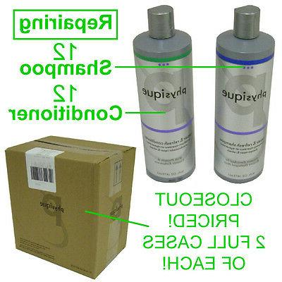 closeout new repairing 12 bottles shampoo