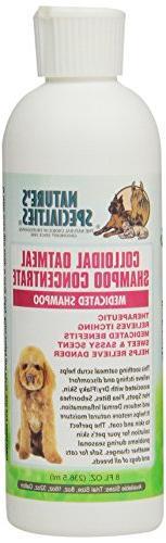 Nature's Specialties Colloidal Oatmeal Pet Shampoo, 8-Ounce