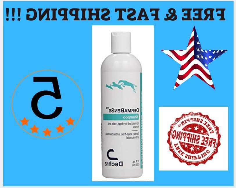 Dechra DermaBenSs Shampoo for Dogs, Cats & Horses 12oz Gentl