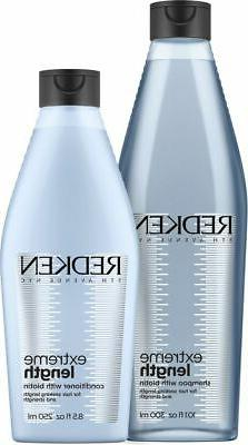 Redken Extreme Length with Biotin Shampoo 10.1 oz and Condit