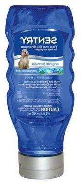 SENTRY Flea and Tick Shampoo for Dogs and Puppies, Tropical