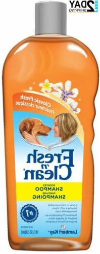 fresh n clean lambert kay scented dog