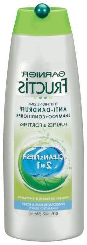 Garnier Fructis Anti Dandruff Clean & Fresh 2in1 Shampoo + C