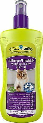 hairball prevention waterless spray for cats 250