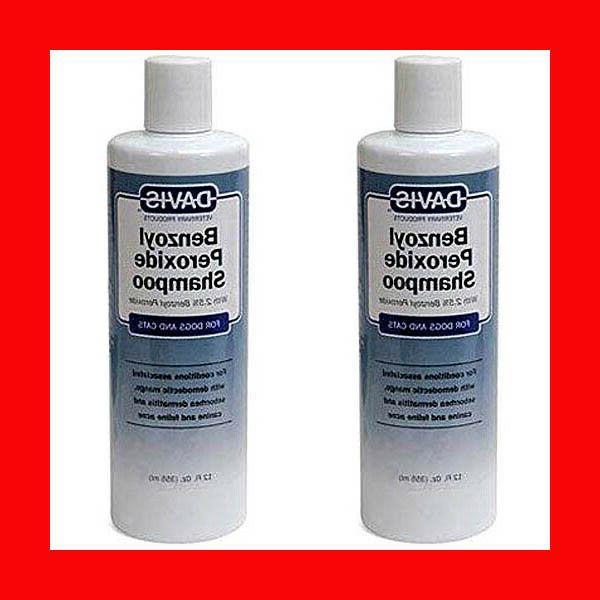 lot of 2 benzoyl peroxide shampoo 12