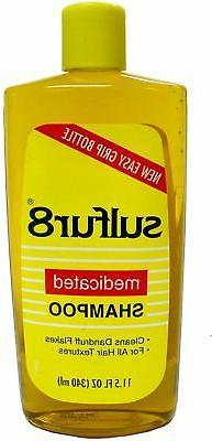 1 LOT of 3 Sulfur8 Medicated Shampoo 11.5 fl. oz. ea.