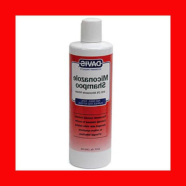 miconazole medicated shampoo 12 oz dog cat