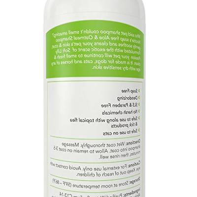 Oatmeal Shampoo Soothing Aloe - Best for All Pets