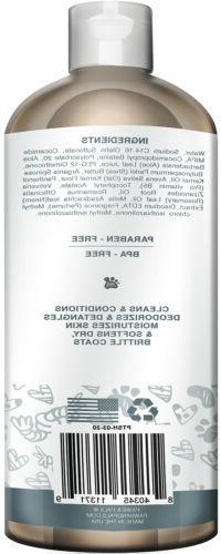 Pet Oil Shampoo Conditioner for Tearless Bath-20 oz.