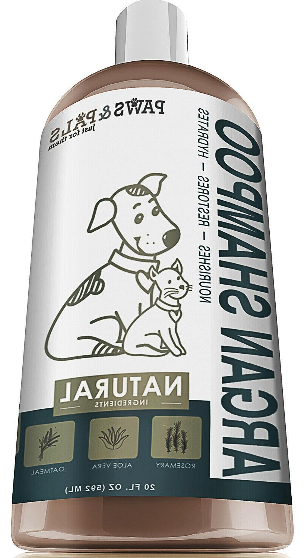 pet argan oil shampoo conditioner