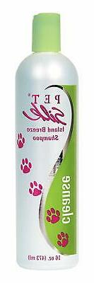 PET Silk Island Breeze Shampoo 16 oz
