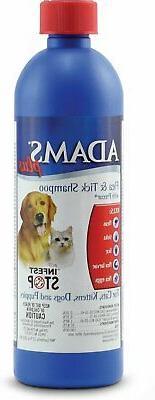 Adams Plus Flea & Tick Shampoo with Precor,