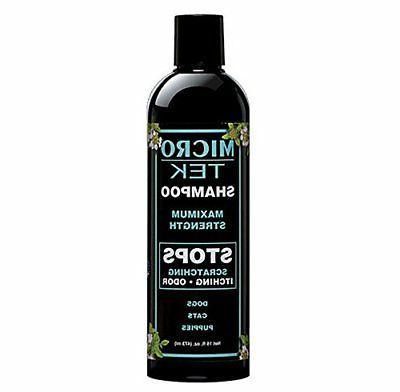 prod micro tek pet shampoo